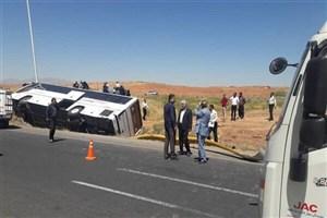 تصادف یک اتوبوس بین شهری با موتورسوار/ راکب ۴۴ ساله فوت کرد