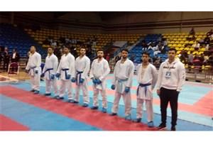پیروزی کاراته کاران دانشگاه آزاد مقابل تیم اتحاد آذربایجان شرقی