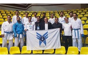 دومین پیروزی تیم کاراته دانشگاه آزاد در لیگ برتر