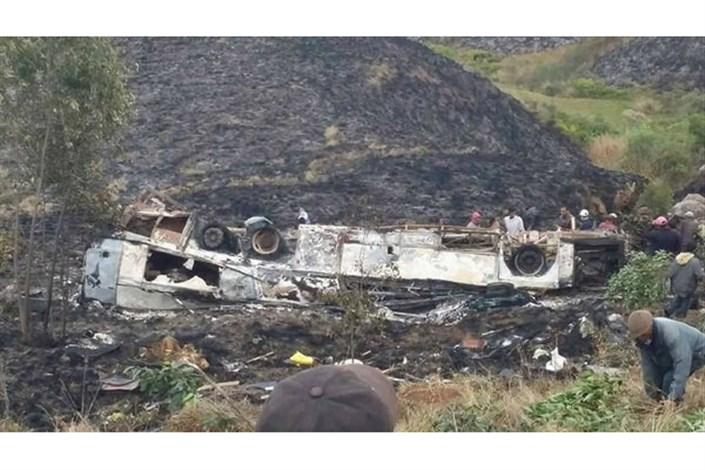 واژگونی کامیون در فیلیپین