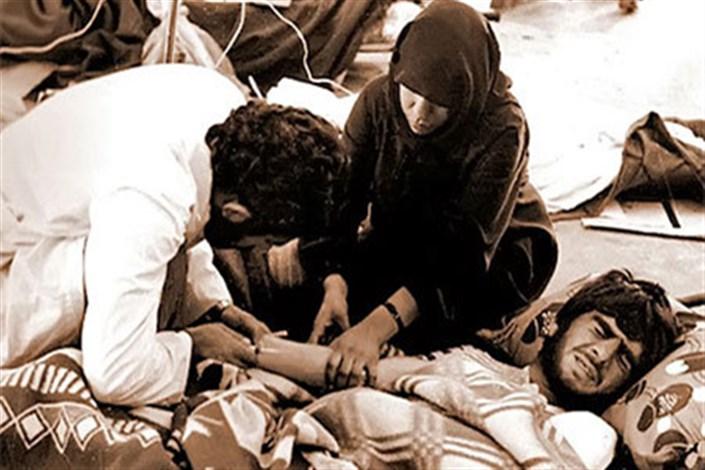 بیمارستان صحرایی دوران جنگ تحمیلی