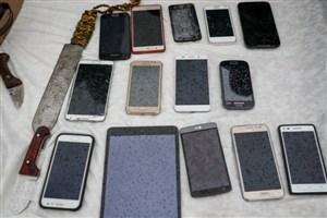 دستگیری زن ومرد موبایلقاپ