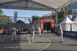 دانشگاه آزاد اسلامی از رسیدن به فینال بسکتبال 3 نفره بازماند