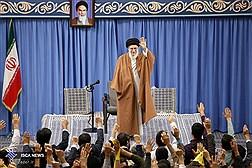 میهمانان شرکتکننده در اجلاس وحدت اسلامی با رهبر انقلاب دیدار میکنند