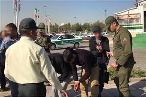 ۵ شرور منطقه دولتخواه  بازداشت شدند