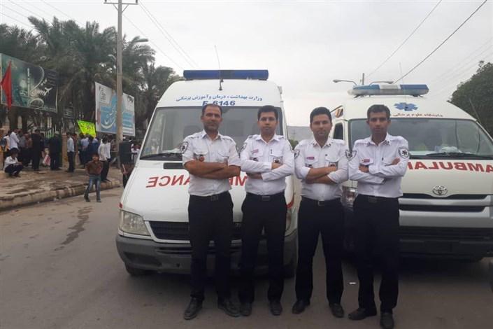 تمهیدات اورژانس تهران در13 آبان