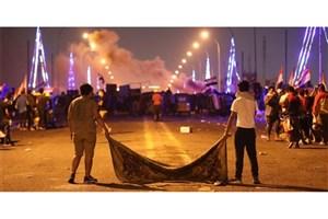 روز دهم تظاهرات عراق؛ حوزههای نفتی و پلها هدف معترضان