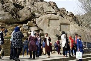 اصلاح مسیر بنای تاریخی گنجنامه در همدان در راستای احقاق حقوق عامه