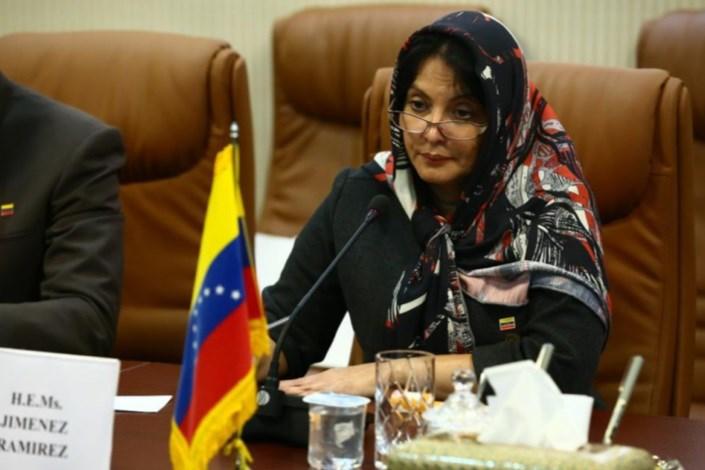 گابریلا سرویلیا خیمنس وزیر علوم و فناوری ونزوئلا