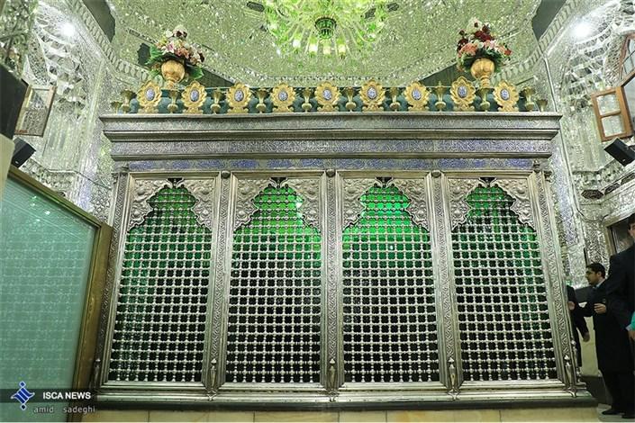 مراسم غبار روبی از ضریح حرم مطهر حضرت عبدالعظیم حسنی (ع)