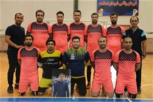مازندران در مسابقات لیگ دسته اول فوتسال دانشگاه آزاد سوم شد