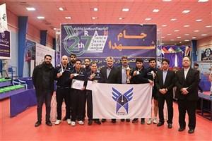 مسابقات لیگ تنیس روی میز باشگاههای کشور با حضور دانشگاه آزاد اسلامی برگزار میشود