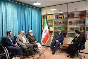 سروری مجد با نماینده ولیفقیه در آذربایجان غربی و امام جمعه ارومیه دیدار کرد