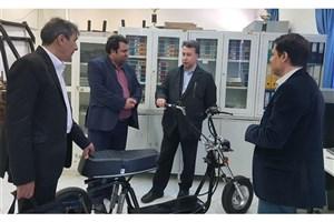 ساخت و تولید موتورسیکلت برقی با امکان حمل بار