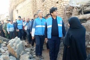 ۲۰ دانشجوی دانشگاه آزاد اسلامی میانه به مناطق زلزلهزده اعزام شدند
