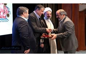 تقدیر از واحد تهران شمال در هشتمین همایش ملی پدافند غیرعامل