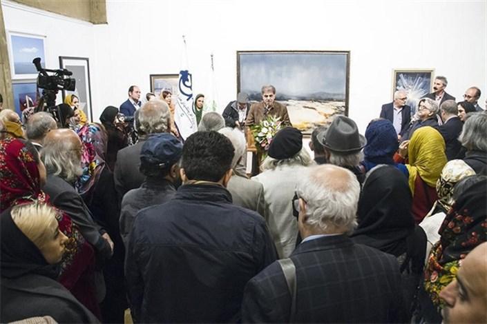 افتتاحیه اولین نمایشگاه هنر های تجسمی هنرمندان پیشکسوت