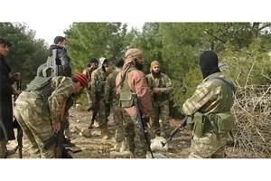 باجگیری عناصر داعش و تروریستهای وابسته به ترکیه از ساکنان شمال سوریه