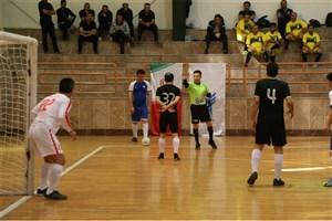 پایان رقابت مرحله مقدماتی مسابقات فوتسال لیگ دسته دوم کارکنان دانشگاه آزاد