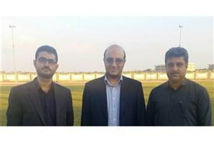 حضور دبیر شورای عالی ورزش دانشگاه آزاد اسلامی در واحد بوشهر