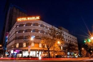 هتل مارلیک تهران آتش گرفت