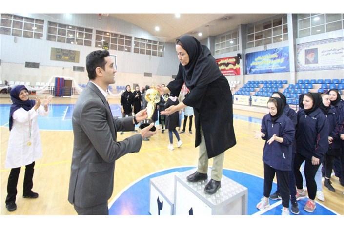 قهرمانی تیم بسکتبال واحد تهران شمال