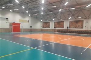 افتتاح مرکز ورزشی سما کاشان