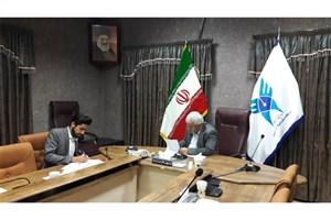 قرارداد جذب دانشجویان خارجی در واحد کرج منعقد شد