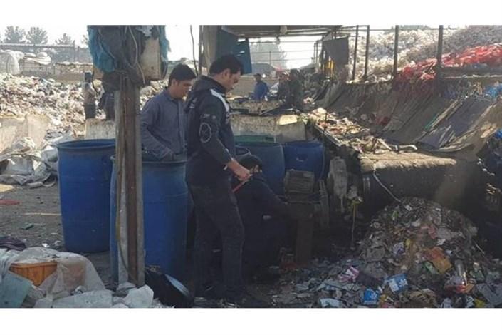 پلمب ۲ واحد غیرمجاز و آلاینده در شهر ری