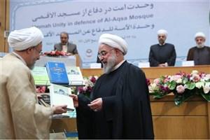 روحانی از آثار برگزیده علمی مجمع جهانی تقریب مذاهب رونمایی کرد