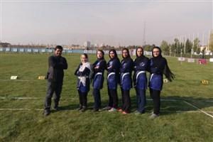 نایب قهرمانی تیم بانوان دانشگاه آزاد اسلامی در لیگ تیر و کمان
