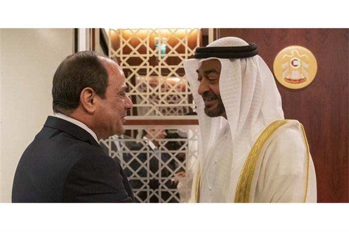عبدالفتاح السیسی در امارات