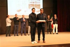 تقدیر ویژه هیئت داوران مسابقه طراحی داخلی ایران از یک باشگاه ورزشی