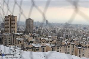 برف برخی نقاط تهران را قفل کرد/ ترافیک بسیار سنگین در شمال تهران