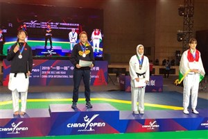 Karaj SAMA IAU Student Wins Bronze in China Open 2019 (G-1)