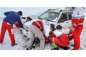 اعلام وضعیت «زرد» در هلال احمر استان تهران در پی بارش برف