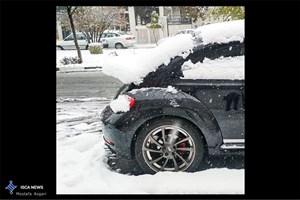 پاکسازی خیابانها و شریانهای اصلی از برف/ برف گرفتگی نداریم