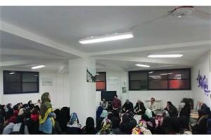 بازدید هیئت رئیسه واحد لاهیجان از خوابگاه دانشجویی الزهرا