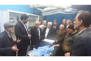 هیئت دانشگاهی سوریه از واحد ورامین-پیشوا بازدید کردند