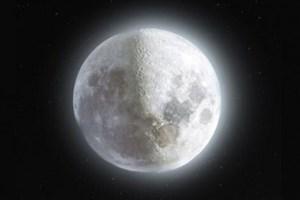 تصویر ۵۲ مگاپیکسلی ماه ثبت شد