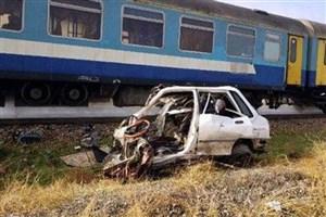 برخورد پراید با قطار تهران -قزوین/ 3 نفر جان باختند