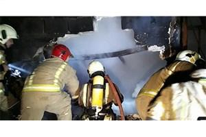 آتش به جان تابلو فرش ها افتاد+عکس