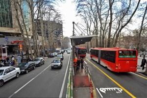 خط یک اتوبوسهای تندرو امروز موقت تغییر میکند