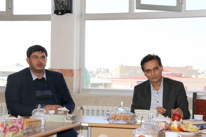جلسه هماهنگی با ادارهکل حفاظت محیط زیست اردبیل