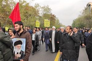 حضور دادستان کل کشور در اجتماع بزرگ مردم تهران در محکومیت اغتشاشات اخیر