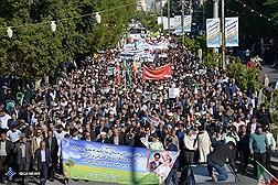 خروش مردم  و  دانشگاهیان  بوشهر  برای دفاع از امنیت