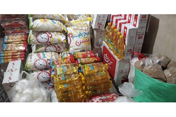 ارسال بیش از یک میلیارد ریال مواد غذایی به مناطق زلزله زده