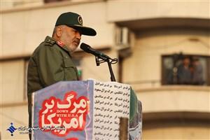 اتاق فکر دشمن قصد داشت به بهانه   گرانی بنزین ملت ایران را شکست دهد