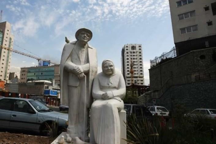 مجسمه های شهری تهران