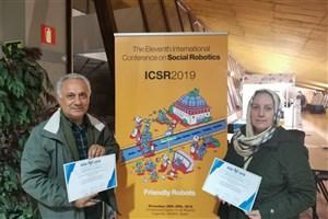 افتخارآفرینی دانشجوی واحد تهران غرب با ساخت ربات اجتماعی هوشمند